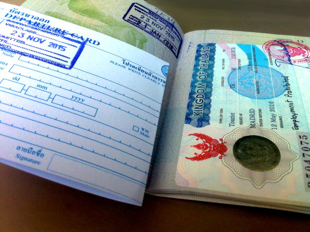 Guía cómo obtener el visado turista para Tailandia 2018